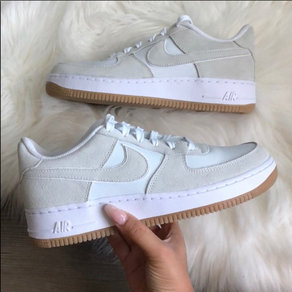 quality design b714a 04cdb Brand New Nike Air Force 1 Suede Off White NWT